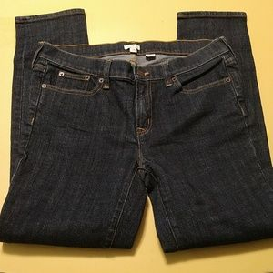 J. Crew Stretch Ankle Jeans size 29